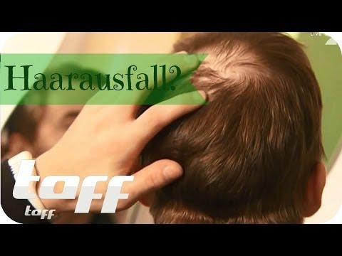 Anti Haarausfall: Haarwuchsmittel im Test | taff
