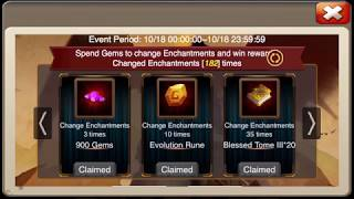 castle clash fine enchantment chest - मुफ्त