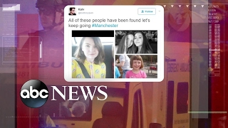 Desperate search for survivors after Manchester attack