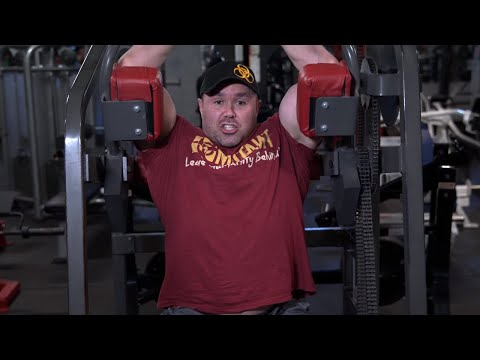 MUTANT IN A MINUTE - Pullover Machine w/ IFBB Pro Ron Partlow at Bev's Gym in New York