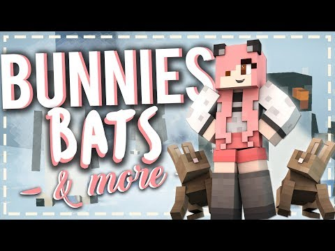 Minecraft Mod Showcase 1.10.2 | Better Than Bunnies, Waddles, & Pet Bats | Mousie