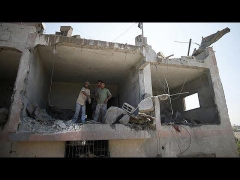 Gaza : poursuite des tirs palestiniens et des frappes israéliennes