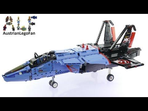 Vidéo LEGO Technic 42066 : Le jet de course