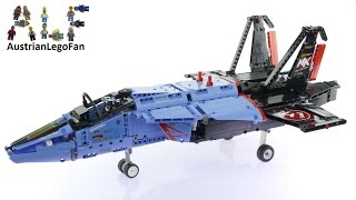 Lego Technic 42066 Air Race Jet - Lego Speed Build Review
