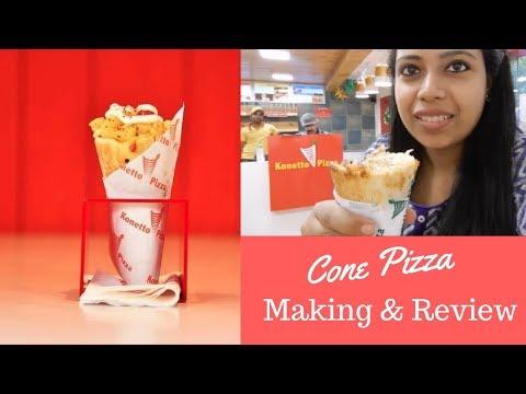 Cone Pizza at Konetto Pizza || Try and Review || Kolkata || India || Tea & Talk with Shree