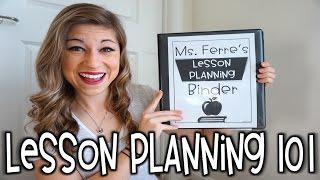 Lesson Planning 101 | That Teacher Life Ep 21