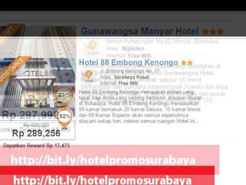 Hotel Murah di Surabaya di Bawah 100 ribu, Hotel di Surabaya Pusat Kota, Hotel di Surabaya Utara