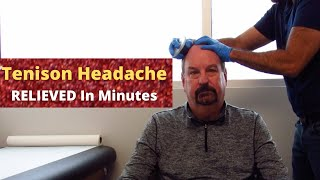 Chronic Tension Headache Relieved In A Flash (PROVEN!!)