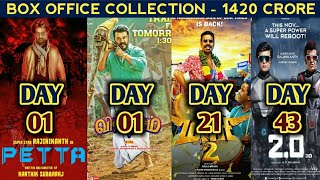 Tamil Box Office Collection Of Petta, Viswasam, Maari 2 and 2.0