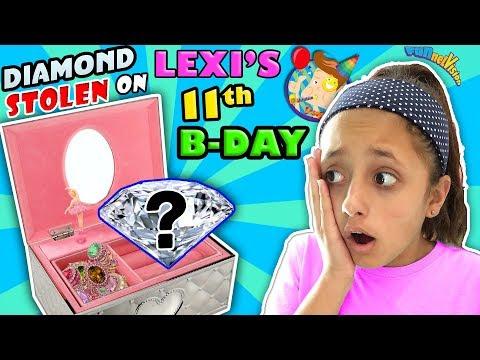DIAMOND STOLEN on her 11th BIRTHDAY!  FV Family Lexi B-Day Celebration Vlog