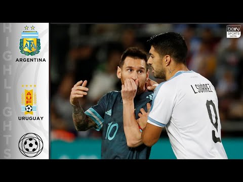 Argentina 2 - 2 Uruguay - HIGHLIGHTS & GOALS - 11/18/19