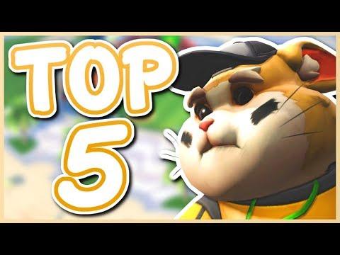 Overwatch - TOP 5 BIGGEST THROW HEROES