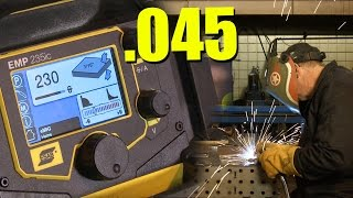 🔥 .045 sMIG Welding (with the ESAB Rebel 235)