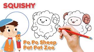 How To Draw A Sheep Squishy मफत ऑनलइन वडय