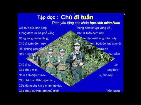 Tiếng Việt 5, Tập đọc: Chú đi tuần