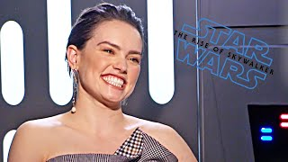 Star Wars 9 Daisy Ridley talks! (2019) The Rise of Skywalker