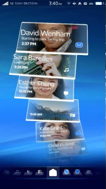 Sony Ericsson's Android Rachael UI Makes Me Want To Ditch My IPhone