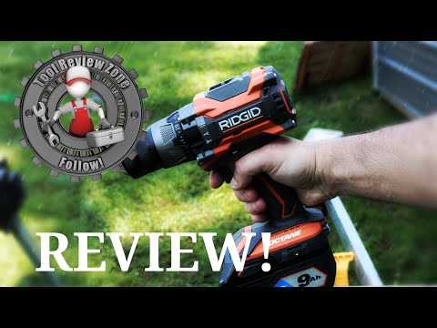 RIDGID OCTANE 18 Volt 1/2″ Hammer Drill/Driver REVIEW! R8611506B #RIDGID #toolreviews #tools