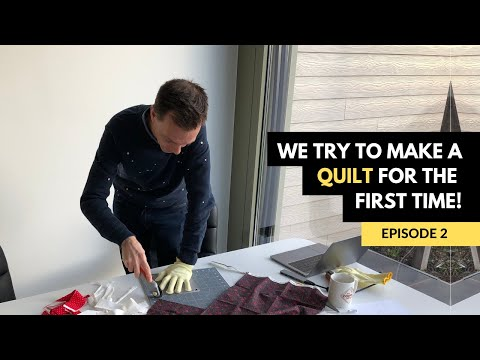 Mark And Richard's Quilt For Mom - Episode 2