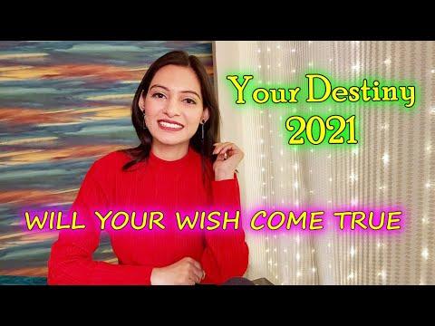 Pick a Card 🔮YOUR DESTINY 2021 PREDICTION 💫 Will Your Wish Come True ? FREE TAROT READING FUTURE