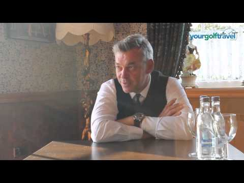 Darren Clarke talking about The Masters at Augusta National