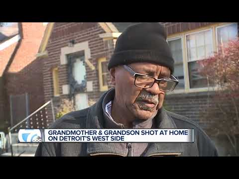 Grandmother, grandson found shot inside home on Detroit's west side