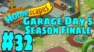 HOMESCAPES Gameplay Story Walkthrough Part #32   Garage Area Day 5 Season Finale
