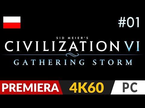Civilization 6: Gathering Storm PL ⚡️ odc.1 (#1 DLC)