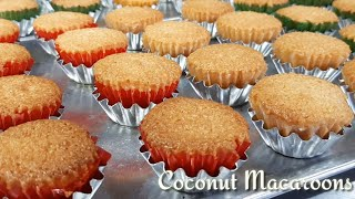 Coconut Macaroons Made With Desicated  Coconut Recipe