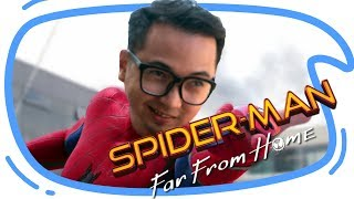 SPIDERMAN FAR FROM HOME Trailer REACTION n EASTER EGG BREAKDOWN !