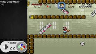 SMW - Valley Ghost House (Secret) - 277