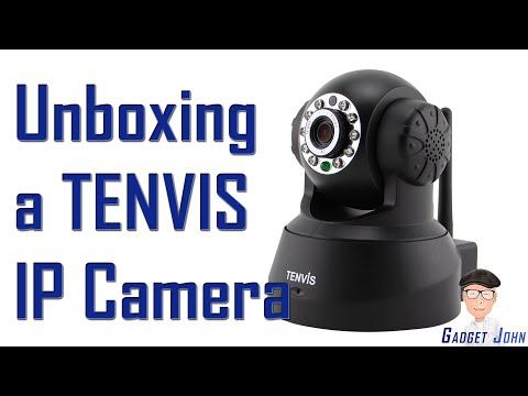 Unboxing & Setup of Tenvis JPT3815W IP Camera