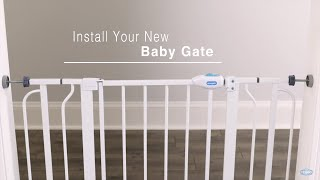 Regalo Baby Wall Safe Pressure Mount Baby Gate (#1163 & #1168)