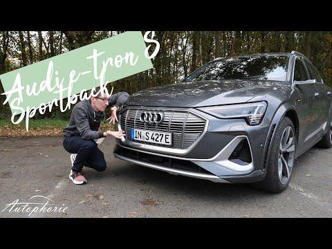 ⚡️⚡️⚡️ Audi e-tron S Sportback Test: Reichen 503 PS (973Nm) für das S-Label? [4K] - Autophorie