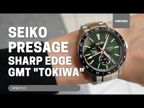 SEIKO PRESAGE SHARP EDGE GMT