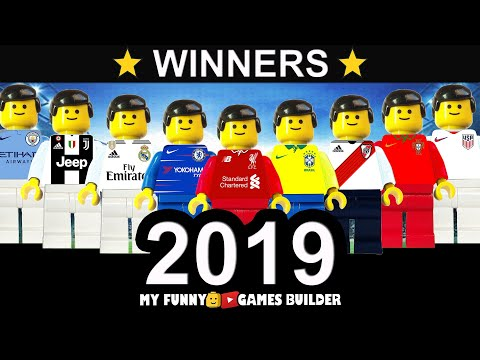 Football Winners of the Year 2019 • Top Finals in Lego Football Film