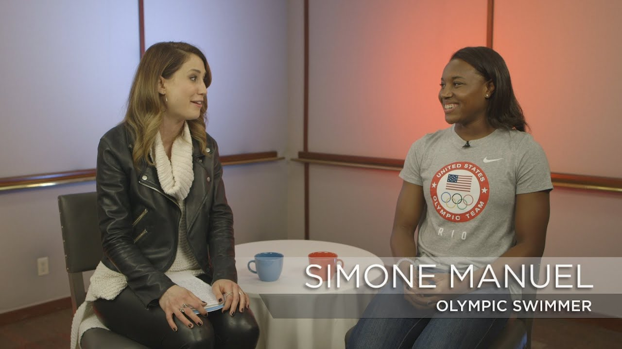 Simone Manuel discusses her gold-medal winning preparation | Rio Olympics 2016 thumbnail