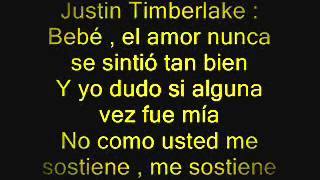 Michael Jackson Ft. Justin Timberlake - Love Never Felt So Good - Letra En Español