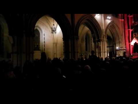 Panis Angelicus in Christchurch Dublin 2016 with Simon Morgan