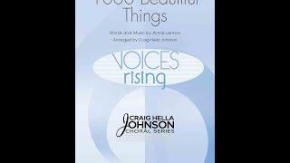 1000 Beautiful Things - Arranged by Craig Hella Johnson