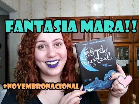 Eclipse da Lua Azul, Débora Knittel/Érica Falcão #NovembroNacional l Baú Literário