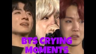 BTS CRYING MOMENTS