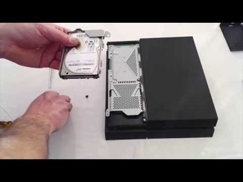 PS4 2TB Hard Drive Upgrade
