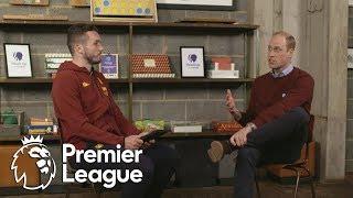 John McGinn interviews the Duke of Cambridge | Premier League | NBC Sports