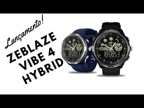 7b437d03d89 SmartWatch Zeblaze Vibe 4 Hybrid - Live Dantas
