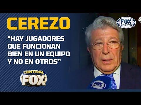 """Enrique Cerezo: """"Héctor Herrera es un jugador magnífico"""""""