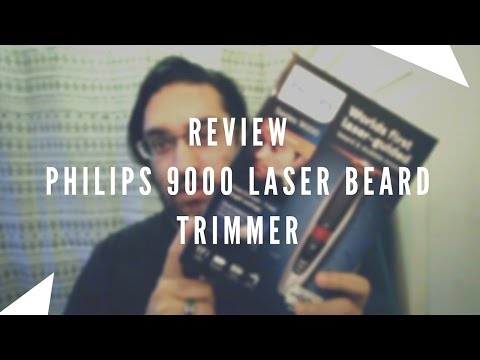 Phillips 9000 Laser Beard Trimmer Review | AVERAGE CHAP