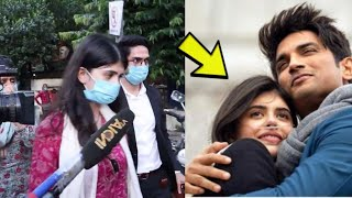 Sushant Singh Co-Actor Sanjana Sanghi From Dil Bechara Movie Arrives At Police Station
