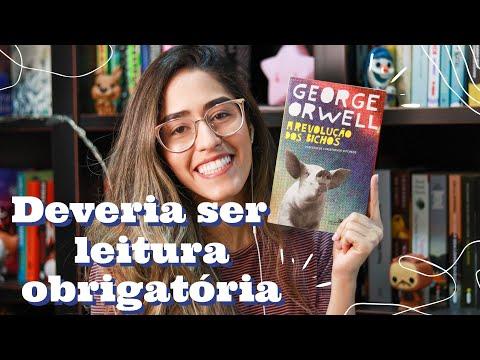 A REVOLUÇÃO DOS BICHOS / A FAZENDA DOS ANIMAIS, de George Orwell | Rebecca Gueiros