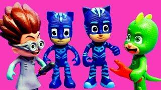 Герои в масках. Видео с игрушками. МегаКопирователь РОМЕО клонировал Кэтбоя. Мультик Герои в масках